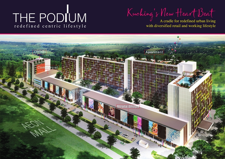 """ The Podium, Kuching"